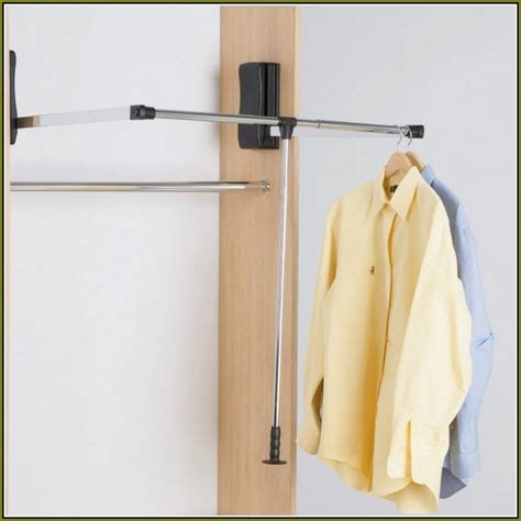 Diy Pull Closet Rod by Pull Closet Rod Home Design Ideas