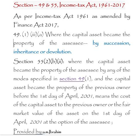section 55 2 of income tax act valuers world view topic capital gain tax valuation
