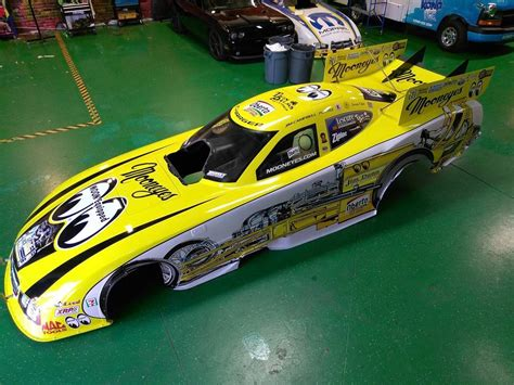 jim dunn racing  mooneyes funny car wrap gator wraps