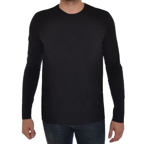 Azeanita Plain Longsleeve Blouse brave soul mens sleeve t shirt plain crew neck casual top ebay