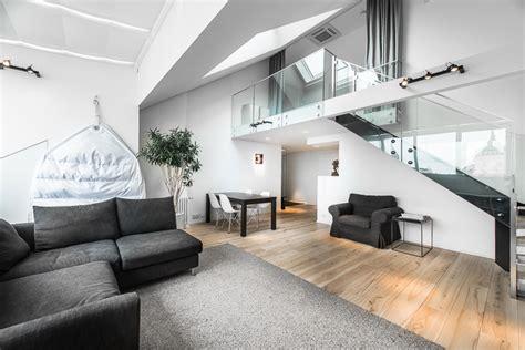modern penthouses modern penthouse with a loft