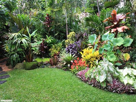 Tropical Garden Ideas Pictures Small Tropical Garden Design Ideas The Garden Inspirations