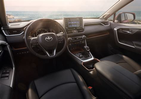 suv toyota inside all new 2019 toyota rav4 gets aggressive in every way