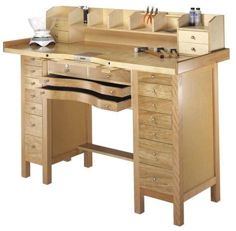 bench jewellery jewelers 16 drawer workbench