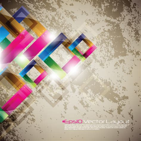 design grafis power point colored geometric shapes vector backgrounds 01 free download