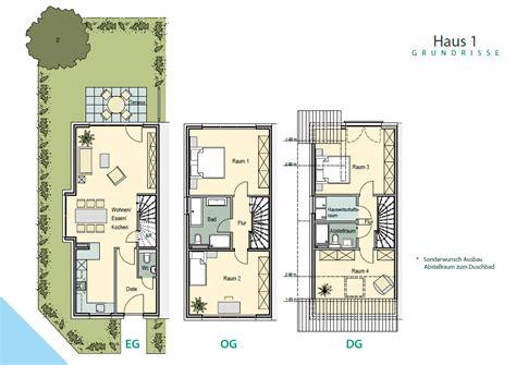 reihenhaus grundriss wiesbaden am wingert centra immobilien gmbh