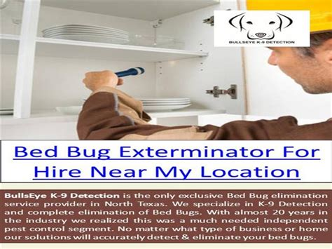 bed bug exterminator near me bed bug removal near me authorstream