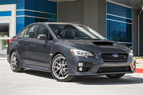 subaru minivan 2016 2016 subaru wrx sti limited pricing features edmunds