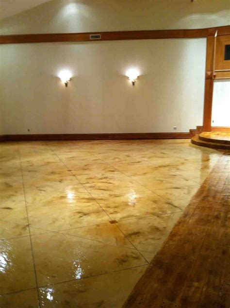 light stained concrete floors colored concrete pigment photo gallery directcolors com
