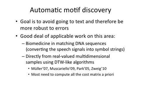 time series pattern matching algorithm multimodal pattern matching algorithms and applications