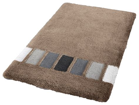 Vita Futura Cashmere Modern Non Slip Washable Bathroom Rug Modern Bathroom Rug