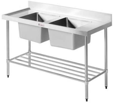 stainless steel benches perth simply stainless double sink benches practical products