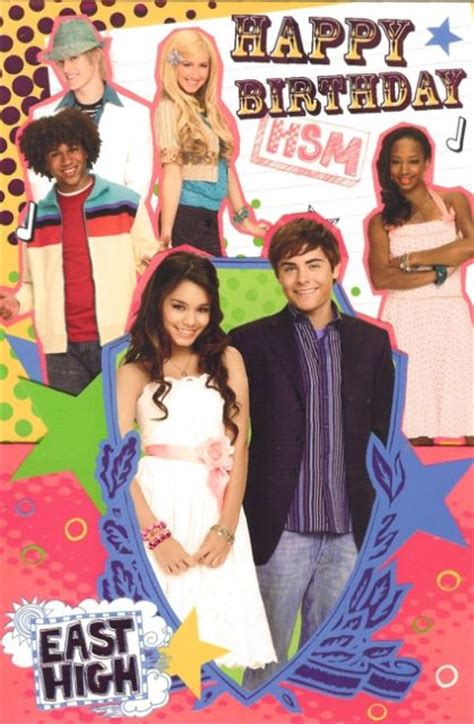 high school musical anniversary highschool musical birthday card images frompo 1