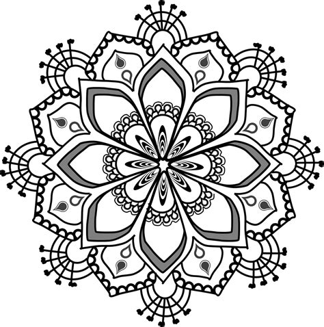 clipart to for free top 93 free mandalas clip free clipart image