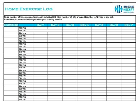 weight training log template tracking your workouts with a workout log template weight