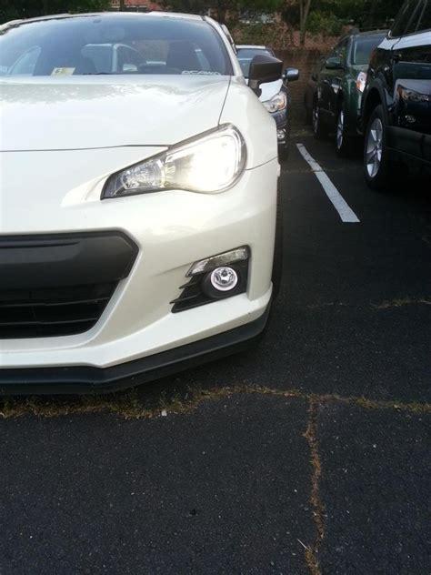 subaru brz fog light kit subaru brz eye fog ls halo driving lights kit