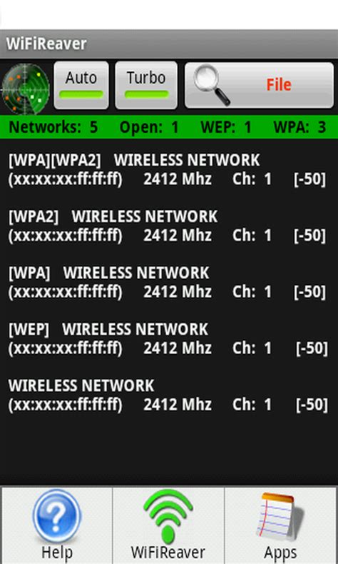 pull wifi apk free wifireaver wireless file reaver apk for android getjar