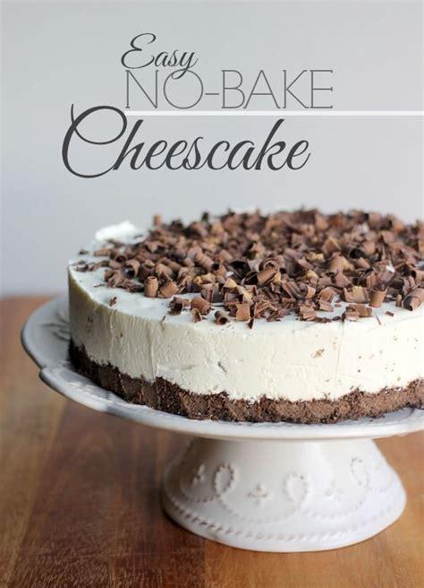 Easy No Bake Cheesecake » Home Design 2017