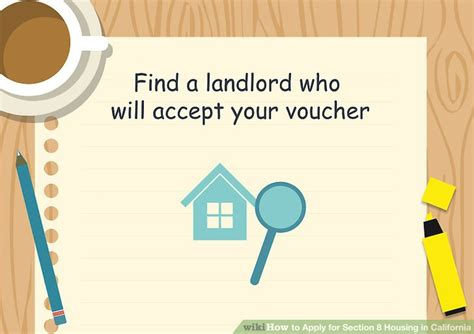section 8 requirements for landlords how to apply for section 8 housing in california