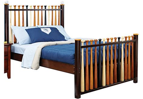 baseball beds batter up 3 pc full baseball bed beds