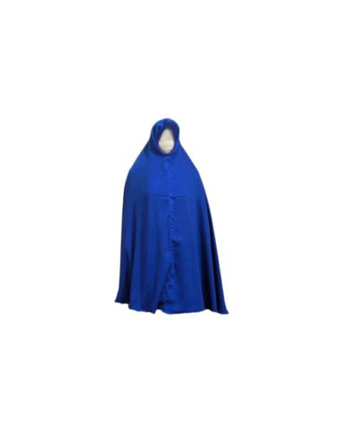 Big Khimar Is big khimar headscarf in blue style