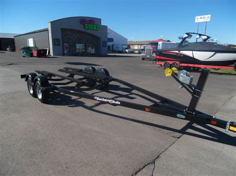 axle for a boat trailer new 2018 yacht club 18 20 5 tandem axle boat trailer