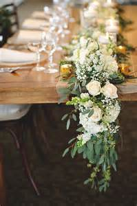floral table runner centerpieces the yes