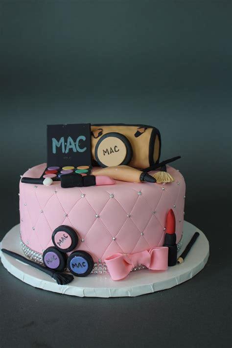 makeup themed birthday cake makeup themed birthday cake johnson s custom cakes