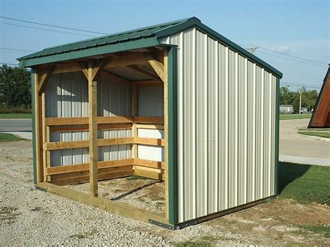 Loafing Shed Oakley Portable Buildings Barn Construction