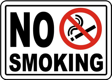 no smoking sign large no smoking sign by safetysign com