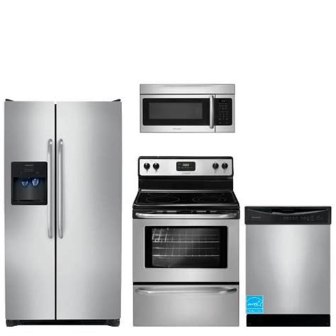 brandsmart kitchen appliance packages frigidaire stainless steel complete kitchen package