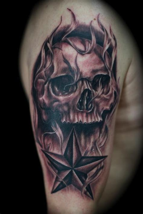 ryan el dugi lewis tattoos skull skull and nor cal