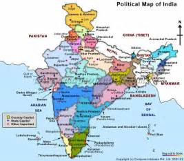 Political Map Of India by Pics Photos South India Map Political