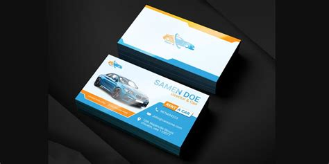 rent a car business card template free 100 free business cards psd 187 the best of free business cards