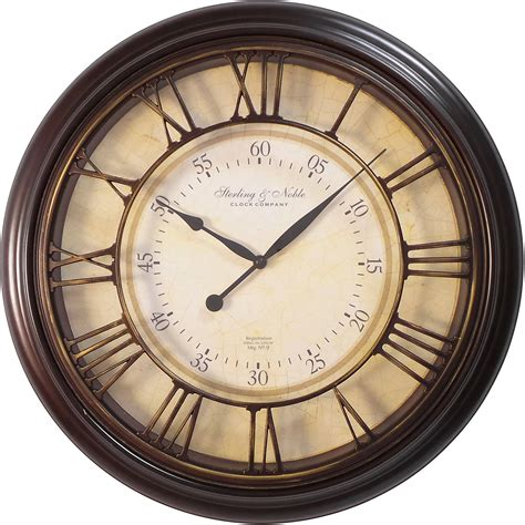 best large wall clocks new 20 quot large roman wall clock vintage home decor bronze