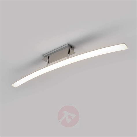 ceiling lighting lorian led ceiling light curved lights co uk