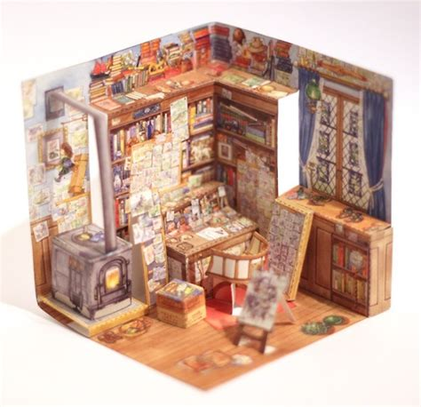 Papercraft Museum - 17 best images about paper diorama on japanese