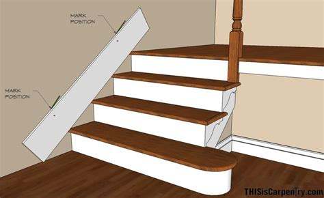 gap between outside edge of casing and wall fine how to install baseboard on stairs good to know
