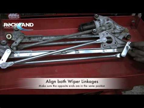 how to replace 2000 acura integra rear wiper motor how to wiper linkage wiper transmission honda civic m4v youtube