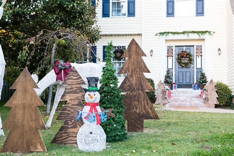 home depot christmas lawn decorations christmas decorations