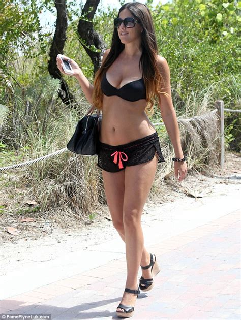 Kim Kardashian Home Interior claudia romani in black bikin in miami 4 sawfirst hot
