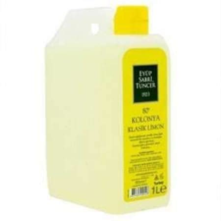 eyuep sabri tuncer  litre limon kolonyasi  derece ncom