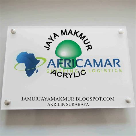 Jual Cermin Akrilik acrylic jaya makmur akrilik shop sign acrylic jual