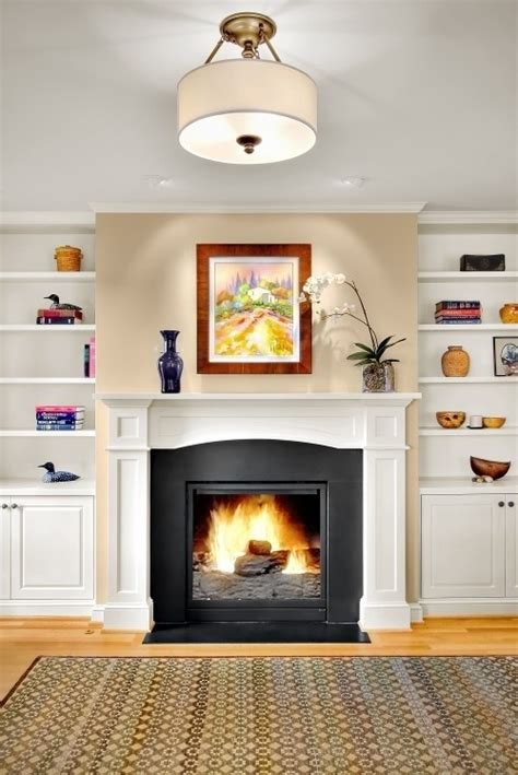Gas Built In Fireplace by Gas Fireplace W Built Ins For The Home