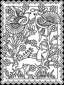 coloring pages of mexican flowers repinned t checked dover publications i thought