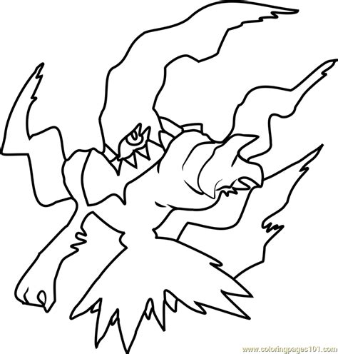 pokemon coloring pages darkrai darkrai pokemon coloring page free pok 233 mon coloring