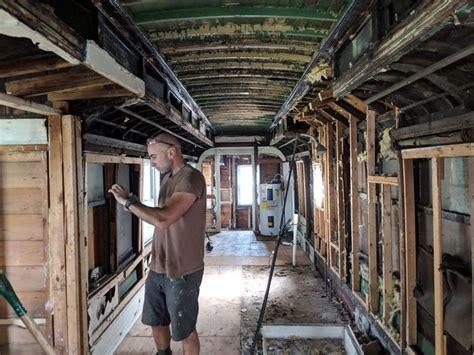 home  built   antique train car njcom