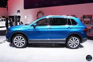 volkswagen tiguan salon geneve 2016 2016 voiture pour lui