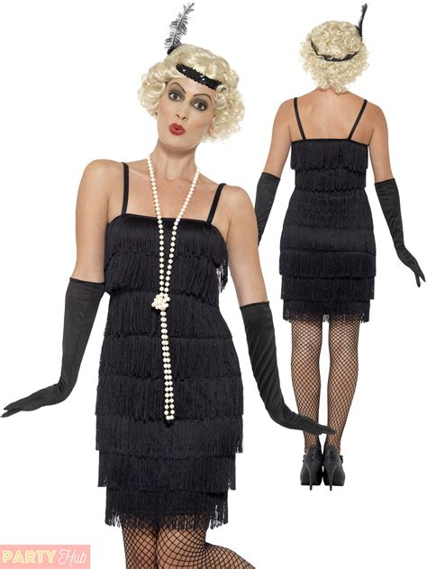 womens outfits in the 20 ladies 1920s flapper costume adults gatsby fancy dress
