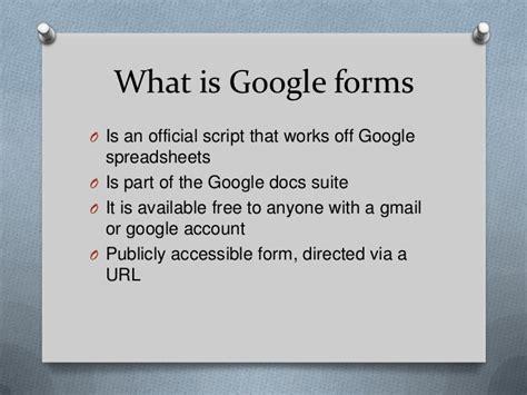 Google Form Script Tutorial | google forms tutorial capturing data online